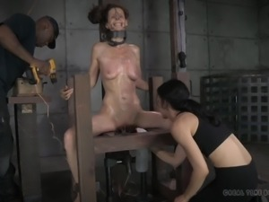 slave has to endure torture