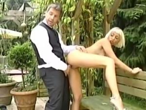 Blonde gal as fucking at a wedding reception