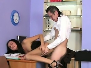 Delighting 2 lustful teachers