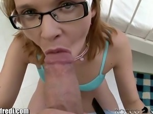 RoccoSiffredi Teen Tastes her Pussy and Ass