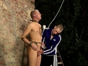 Gay guys Drained Of Cum Through