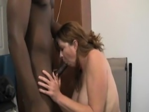 Her creamed mature face