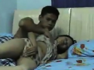 Asian Couple Make A Homemade Sex Tape