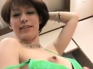 Japanese Cutie Getting Toyed With