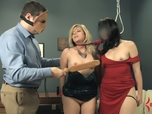 Wild bdsm orgy gets totally out of control