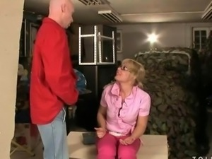 Old couple fucking and pissing
