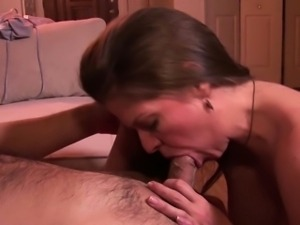 Milf with beauty lingerie fuck with big dick without condom
