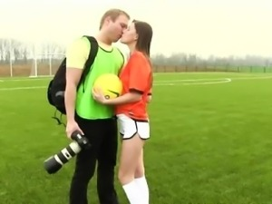 Dutch football player fucked by photographer