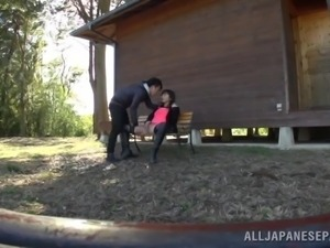 japanese girl fucked outdoor