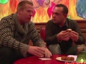 Smoking dutch hooker in her big boots