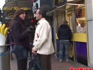 Plump dutch prostitute pumped closeup
