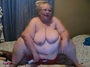 Big Mature Woman Masturbating