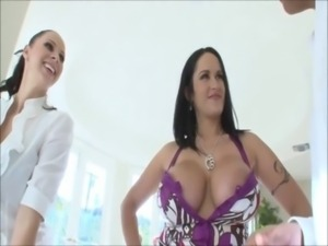 Gianna Michaels & Carmella Bing - Breast Worship 2 free