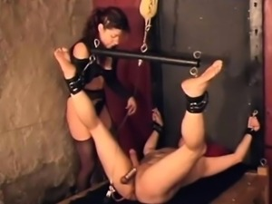 Mistress Raven got spanked