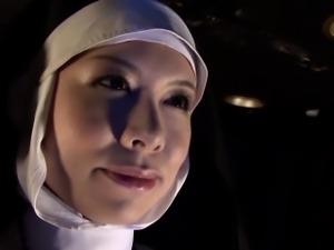 Subtitled HD Japanese schoolgirl spies lesbian nuns