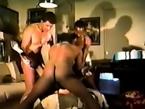 Busty Whore In A Gang Bang