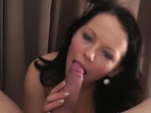 Cock Hungry Casting Brunette Rosetta