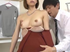 yuria acts weird when banged