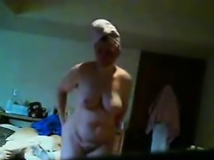 granny Janine spied in her bedroom