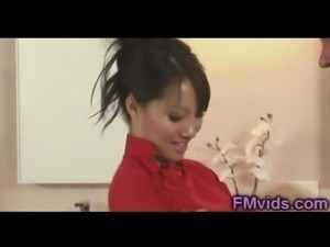 Asian beauty Asa Akira hot shower