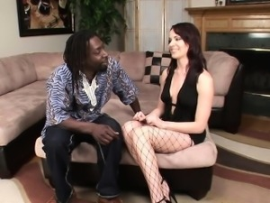 Dana Dearmond Anal Gaped by Black Cock