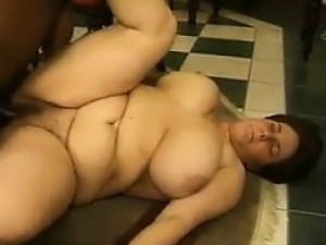 Fat White Women In A Threesome With A BBC