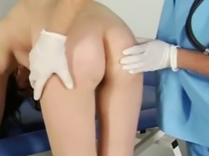 Doctor wants to check your pussy in details!