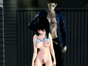 3D anime babe in tentacles gets fucked