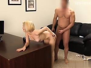 Busty pornstar anal first time