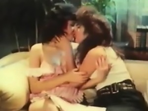 Old School Pussy Licking Lesbian Lovers