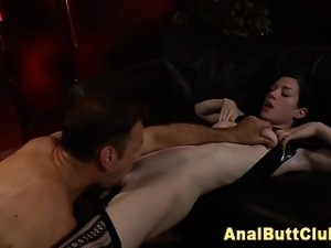 Rimjob fetish slut fucked