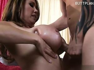 Cute slut anal squirting