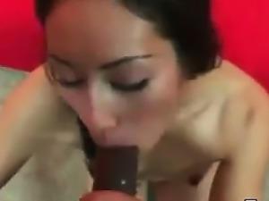 19yo Asian Teen Creampied By A Black Cock