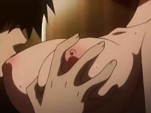 Crazy comedy anime movie with uncensored bondage, big tits,
