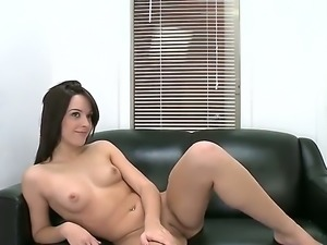 Natalie Heart is one cute young slut who got completely naked and is just...
