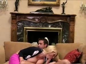 MILF Karen grabs Molly boyfriends dick