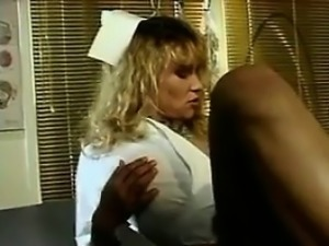 Hairy Nurse Fucking At The Doctors Office