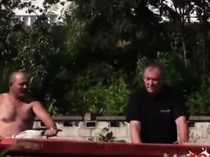 Italian mature cocksuck