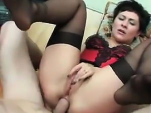 Dirty Russian Mother Wants Anal Sex