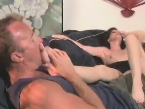 Foot Spa Turns Into Foot Licking