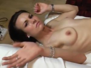 Wild fuck with gorgeous czech brunette