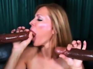 This mature french hottie has a lust for chocolate and