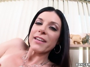 India Summer with round ass has dick-hungry beaver and takes guys snake