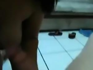Cute Brazilian Chick Sucking Cock POV