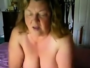 Grandma Gets Her Pussy Licked By Her Husband