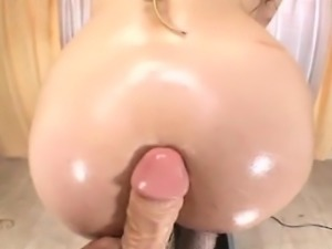 Sexy cowgirl ass spanking