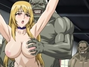 Blonde hentai shemale fucking from behind