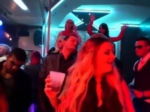 Shower party slut throats