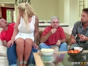 nasty persuasive milf sucking dick