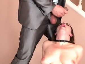 Love those special toys in her fetish hole